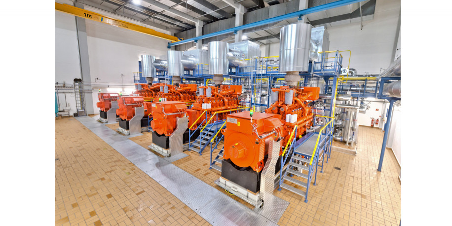 INNIO Waukesha Gas Engines - District Heating Plant Germany - Press Release
