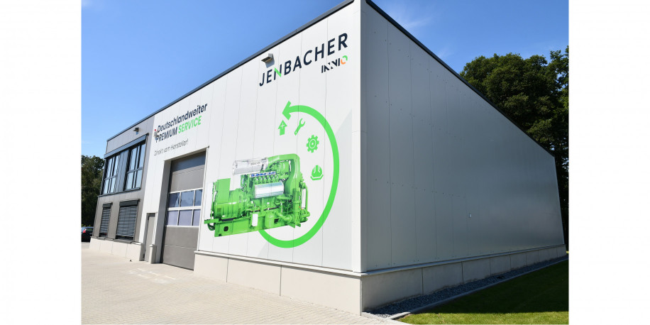 Jenbacher Service Center West in Ibbenbüren