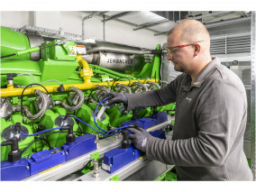 World 1st 1 MW Large-Scale Gas Engine